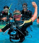 PADI specialities with calipso diving lanzarote